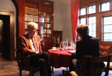 Dr. Scherf im Gespräch mit Marion Müller