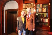 Benjamin Rottmann und Dr. Henning Scherf